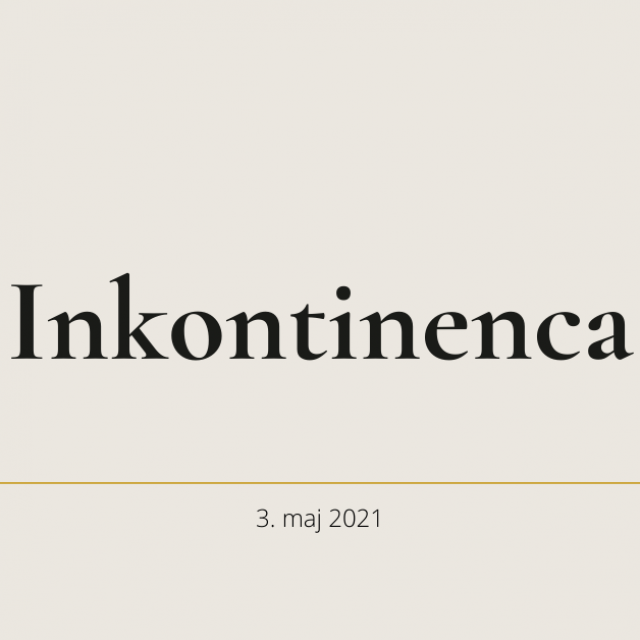 Urinska inkontinenca