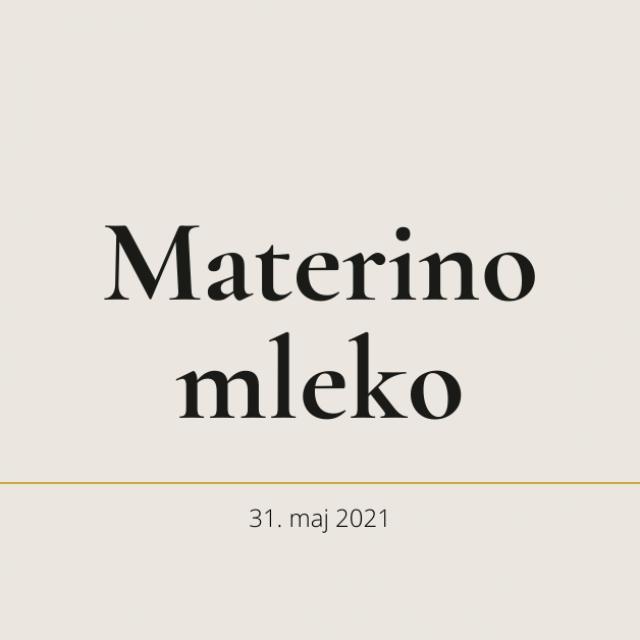 Materino mleko